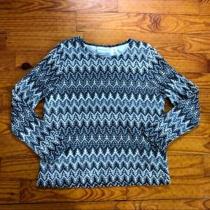 Vintage Alfred Dunner Lightweight Sweater